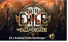 10 Exalted orb Harbinger League Path of Exile POE SC server