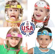 Kids Full Face Children Mascara Visor Face Shield Protection Sun Anti-Fog Splash