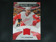 2012-13 Upper Deck UD Game Jersey Tomas Holmstrom Detroit Red Wings