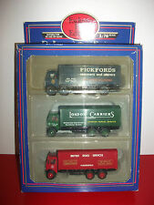 AEC mammoth pack 3 camion trucks EFE 1/76 exclusive first editions