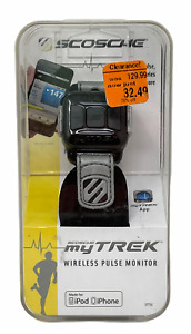 SCOSCHE My Trek Wireless Pulse & Calorie Monitor for Iphone Ipod NIB!