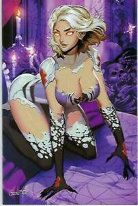 White Widow # 2 GENZOMAN Virgin Variant Kickstarter Cover Edition  !!!   NM
