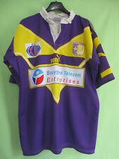 Maillot Rugby TO XIII Toulouse Olympique spacer's Vintage Puma Jersey - L