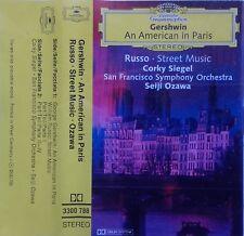 Cassette Gershwin / Russo - Corky Siegel · Seiji Ozawa – An American In Paris