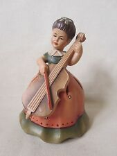 Anri Musical Dr Zhivago Lara's Theme Figurine Box Girl playing cello instrument