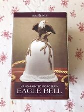 Home Trends Hand Painted Porcelain Eagle Dinner Bell New in box Free Ship