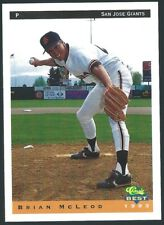 1993 Classic Best San Jose Giants Minor League Baseball Card  PICK/Choose Player