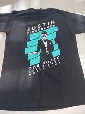 2013 Justin Timberlake Jt The 20/20 Experience World Tour T-Shirt Sz M Black