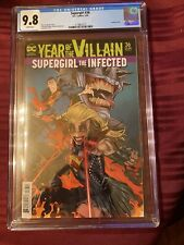 Supergirl #36  CGC 9.8  Acetate Cover  Year of the Villain/ Supergirl Infected