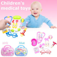 11 PCS Pretend Kids Doctor Nurse Medical Case Role Play Set Gift Educational Toy