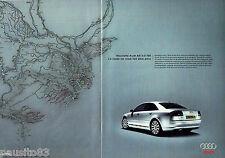 PUBLICITE ADVERTISING 016  2004  Audi A8  3.0 TDI   (2p)