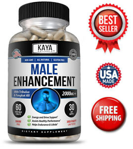 Male Enhancement, Testosterone Booster, Endurance, Increased Sex Drive, Stamina