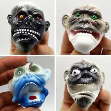 1PC TPR ghost masks finger puppet kids toys gift hand puppet Halloween props  X