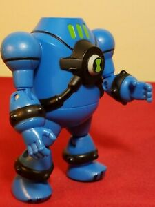 """2010 Blue Haywire NRG 3.5"""" Action Figure Ben 10 Ultimate Alien #O20CTSNSS020"""