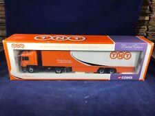 K-56 CORGI 1:50 SCALE DIE CAST TRUCK - 75701 MAN BOX TRAILER - TNT