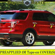 2011-2015 Ford EXPLORER Chrome Door Handle Cover + Tail Light Bezel No Smart Key