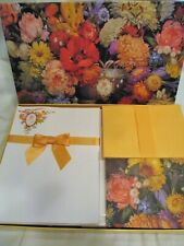 Vintage but NEW 1994 Avon Personal Stationery Gift Set F289991 Fall Florals