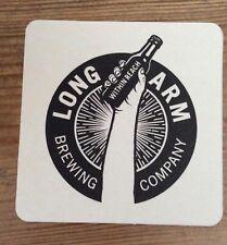 Long Arm Brewing Company beer mat beermat coaster