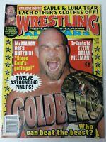 Wrestling All Stars Magazine Back Issue 108 September 1998 Goldberg Sable Luna