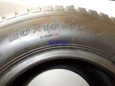 20X10.00-10 DEESTONE TURF D265 TBLS 4PLY lawn garden mower tire 20 x 10 x 10
