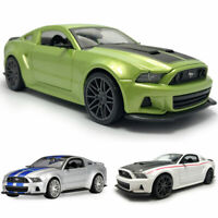 1:24 2014 Ford Mustang Street Racer Model Car Alloy Diecast Vehicle Collection
