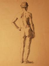 NUDO MASCHILE - Disegno Originale China su Carta 1800 cm 43x32