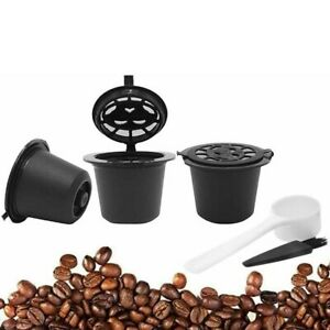 3pcs Refillable Coffee Capsule Cup Dolce Gusto Nescafe Reusable Filter Pod