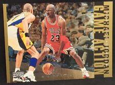 MICHAEL JORDAN 98-99 Upper Deck UD LIVING LEGEND GAME ACTION GOLD SP #08/23 RARE