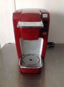 Keurig K10 MINI Coffee Maker  Red