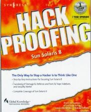 Hack Proofing Sun Solaris 8 (2001, Paperback)