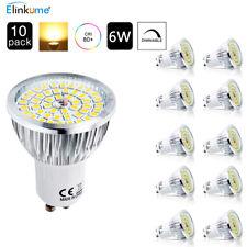 10x GU10 LED Energiespar Lampen Dimmbar 6w Leuchtmittel Spot Strahler Warmweiss