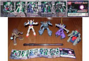 Set 5 Figure Collection Models 8cm Robot Gundam Series Part 8 BANDAI gashapon