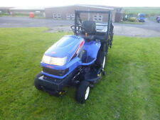 Iseki SGR19 high tip 19hp diesel tractor ride on mower compact 1022 hours