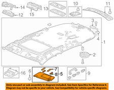 Acura HONDA OEM 14-16 MDX Sunvisor-Sun Visor Right 83230TZ5A01ZB
