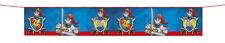 Nuevo Caballeros y Dragones Medieval Fiesta Decoración Bandera Bandera de cartel Partyware