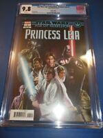 Star Wars Age of Rebellion Princess Leia #1 Variant CGC 9.8 Gorgeous Gem Wow