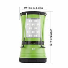 Le 600lm LED Camping Lantern with 2 Multi Functional Handy Flashlight Torch