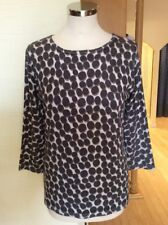 Betty Barclay Top Size 20 BNWT Brown And Cream Spotted RRP £80 Now £36