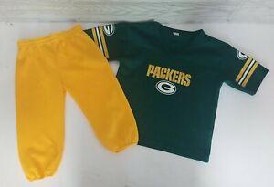 Vintage Franklin Green Bay Packers Brett Favre #4 Uniform Youth Size Medium