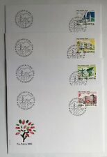 4 Enveloppes FDC timbres suisses Pro Patria 2005 CH1844/1847,Zum CH B288/B291