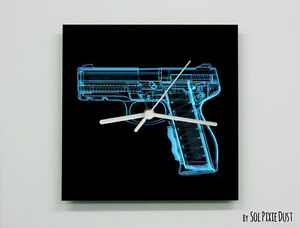 X-Ray Gun Wall Clock