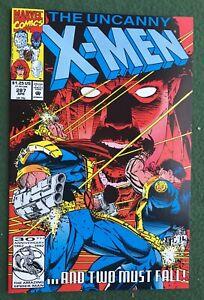 X-Men #287 Marvel Comic Copper Age Storm Colossus Wolverine vf