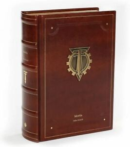 New! Mortis Siege of Terra Warhammer Horus Heresy Limited Edition Book Signed