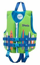 Speedo Swim Vest UV Neoprene Swim Vest Medium Ages 2-4 Weight 33-45 Blue