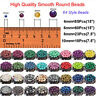 Wholesale DIY Natural Gemstone Round Spacer Loose Beads 4MM 6MM 8MM10MM
