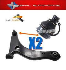 FOR MITSUBISHI GRANDIS 2.0 DID 2.4 03-09 FRONT LOWER WISHBONE ARM BALLJOINTS 2PC