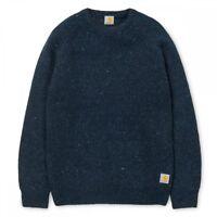 neu Carhartt Anglistic Sweater Herren Pullover navy small S