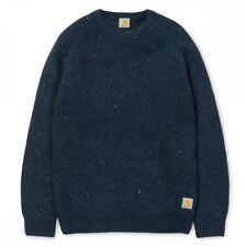 nuevo Anglistic de Carhartt suéter suéter de los hombres S pequeño Marina de guerra