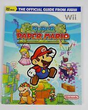 Paper Mario Nintendo Wii Strategy Guides Cheats Ebay