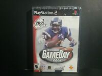 NFL GameDay 2004 (PS2, 2003) Brand New Factory Sealed Black Label w/ Hanger Tab